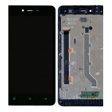 Gionee Pioneer P5L Lcd Display With Touch Screen Folder
