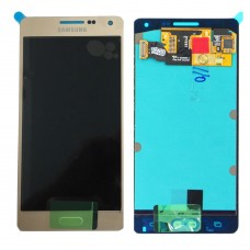 Samsung Galaxy A5,A500F,A500M Golden Lcd Touch Folder