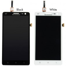 LCD Display with Touch Screen Digitizer For Lenovo S860