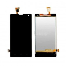 LCD with Touch Screen for Huawei Honor 3C 4G - White (display glass combo folder)