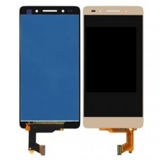 LCD with Touch Screen for Huawei Honor 7s - Gold (display glass combo folder)