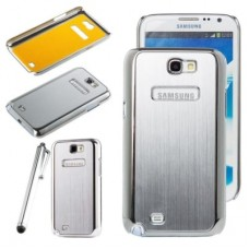 Samsung Galaxy Note 2 Android Back Panel With Chrome Border