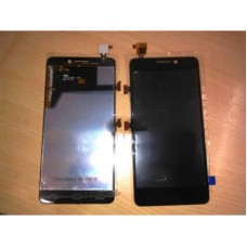 Lcd Display with Touch Screen For Spice Stellar Mi520